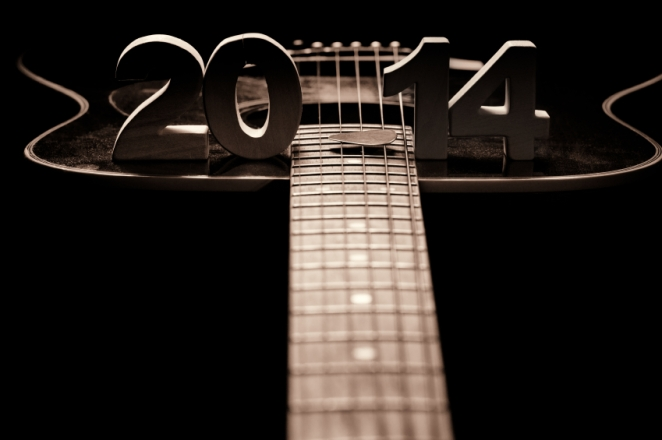 Happy 2014 with music